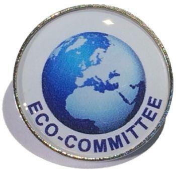 ECO COMMITTEE round badge